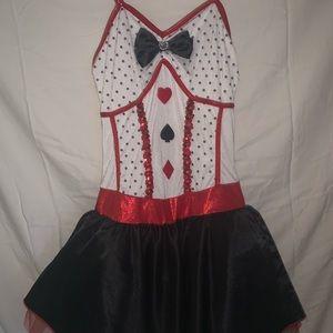 Alice and wonderland dance costume